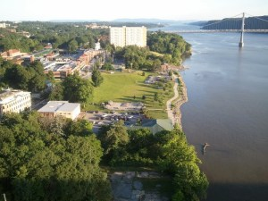 View Hudson Walking Bridge Poughkeepsie NY